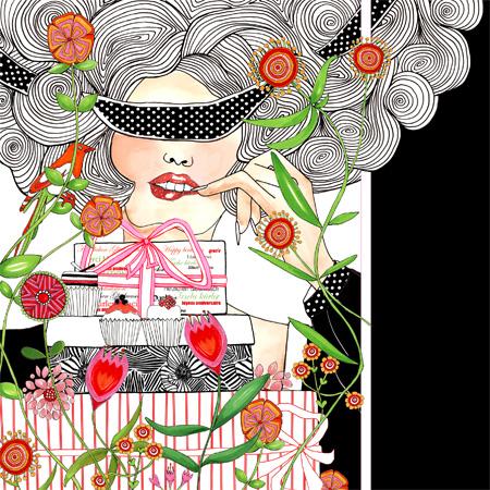 birthday greeting card – Fashion Birthday Cards